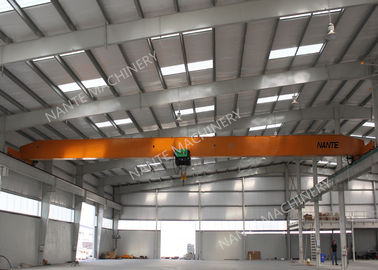 10T Single Girder Overhead Cranes For Factories / Material Stocks / Workshop