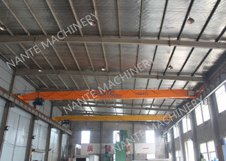 Capacity 2T 16M Span Single Girder Overhead Cranes For Steel Factory LDX2t-16m European standard
