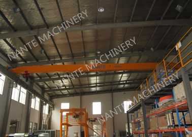 LDX1t-12m Single Girder Overhead Cranes for machinery works/ Workshop / Warehouse / Station