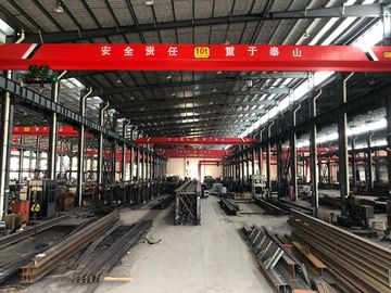 Electric Traveling Double Girder Overhead Cranes 16T For Repair Shops