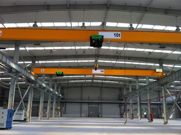 Industrial Single Girder Overhead Cranes With Electric Hoist Trolley