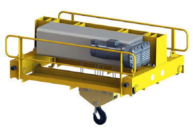Single Girder Crane Motor Low Headroom Hoist