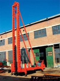 Squeezing Dense Filling Column Hammer Pile Driver with Double Roller for Thumpin Muck Pile